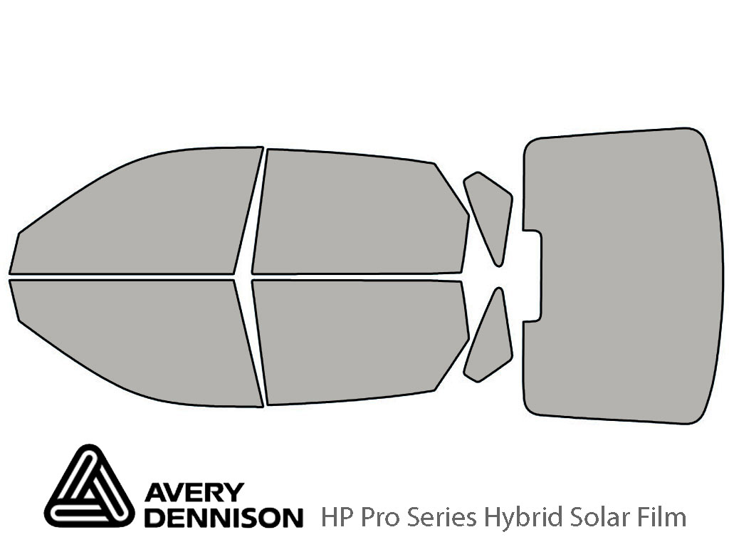 Avery Dennison Hyundai Elantra 2001-2006 (Hatchback) HP Pro Window Tint Kit