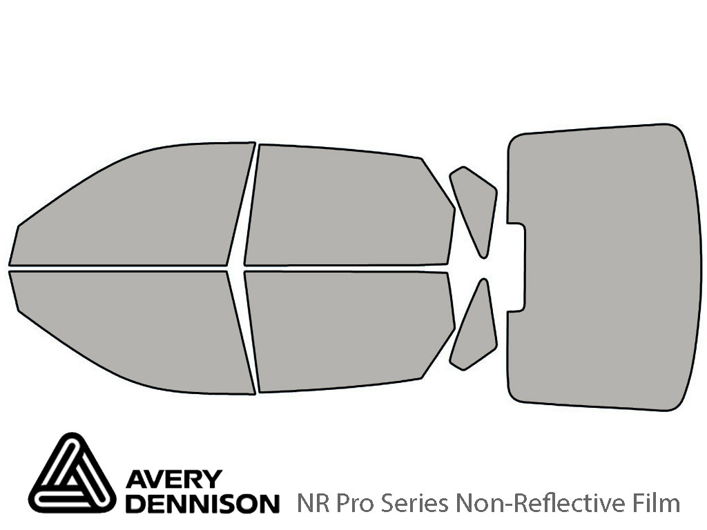 Avery Dennison Hyundai Elantra 2001-2006 (Hatchback) NR Pro Window Tint Kit