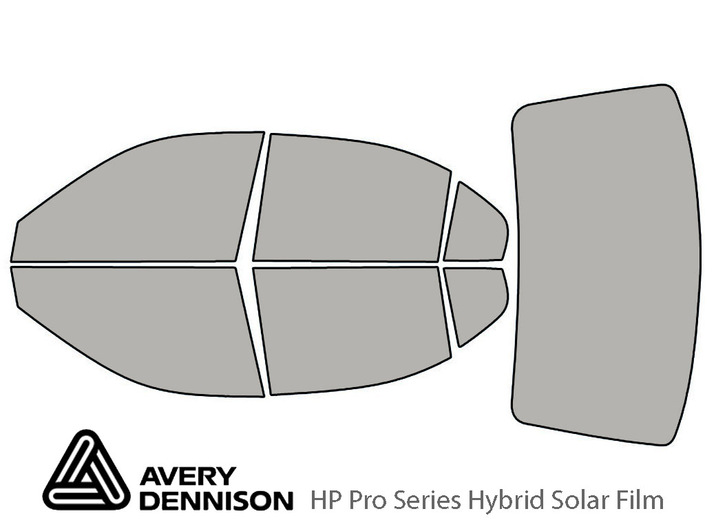 Avery Dennison Hyundai Elantra 2001-2006 (Sedan) HP Pro Window Tint Kit