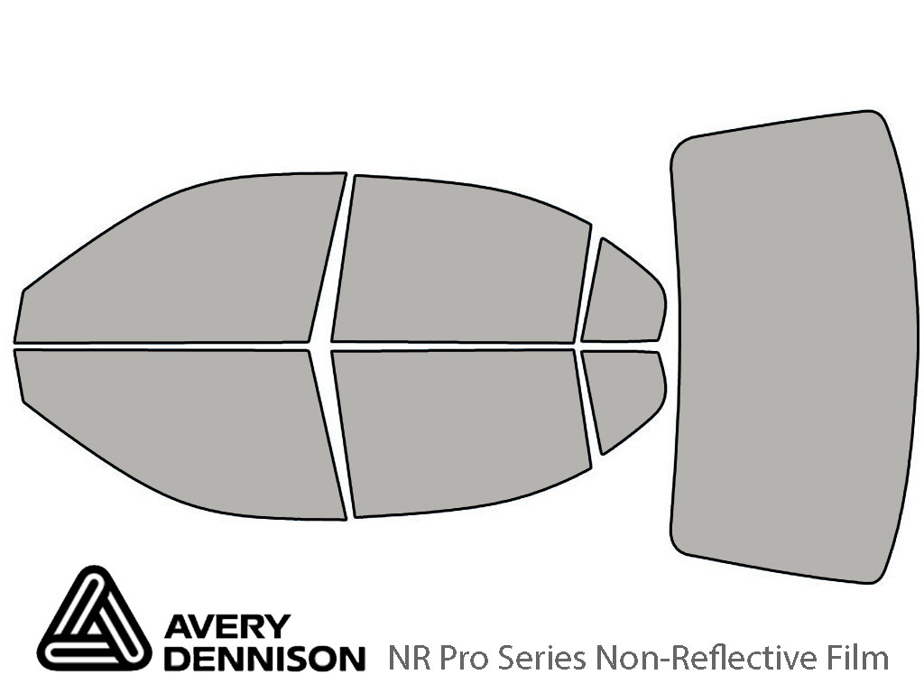 Avery Dennison Hyundai Elantra 2001-2006 (Sedan) NR Pro Window Tint Kit