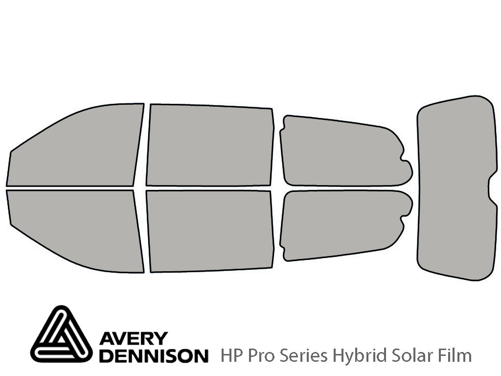 Avery Dennison Hyundai Entourage 2007-2008 HP Pro Window Tint Kit