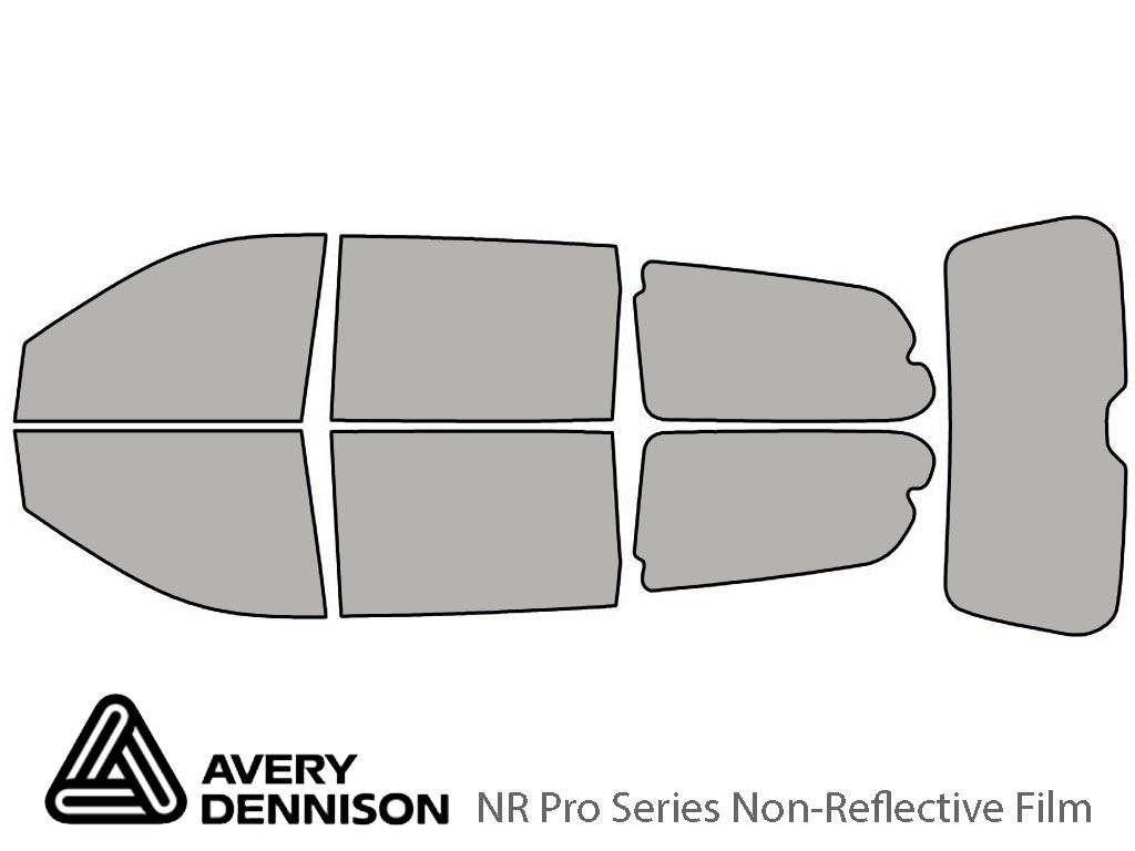Avery Dennison Hyundai Entourage 2007-2008 NR Pro Window Tint Kit