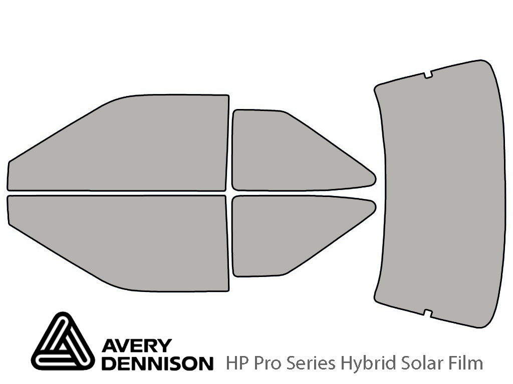 Avery Dennison Hyundai Scoupe 1991-1995 HP Pro Window Tint Kit