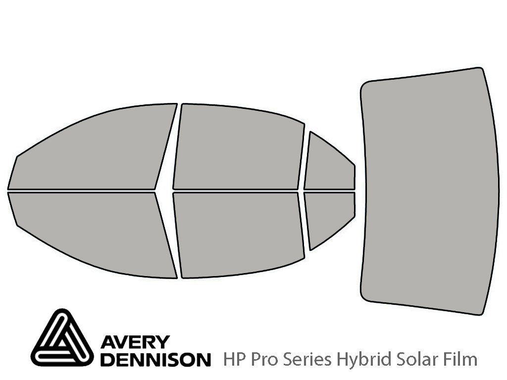 Avery Dennison Hyundai Sonata 2006-2010 HP Pro Window Tint Kit