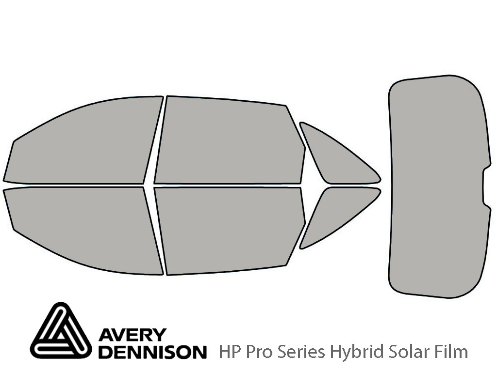 Avery Dennison Hyundai Veracruz 2007-2012 HP Pro Window Tint Kit