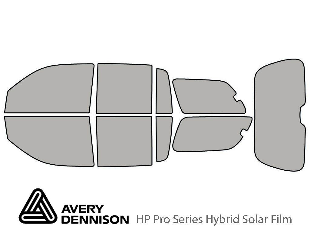 Avery Dennison Isuzu Ascender 2004-2006 (EXT) HP Pro Window Tint Kit