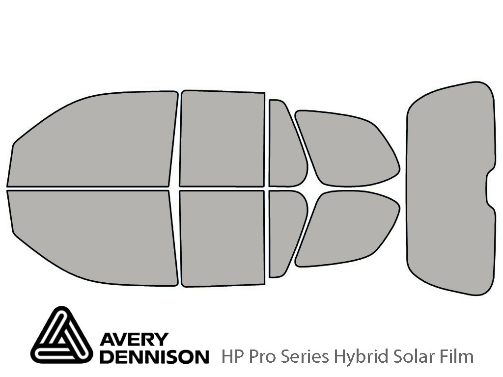 Avery Dennison Isuzu Ascender 2004-2008 HP Pro Window Tint Kit