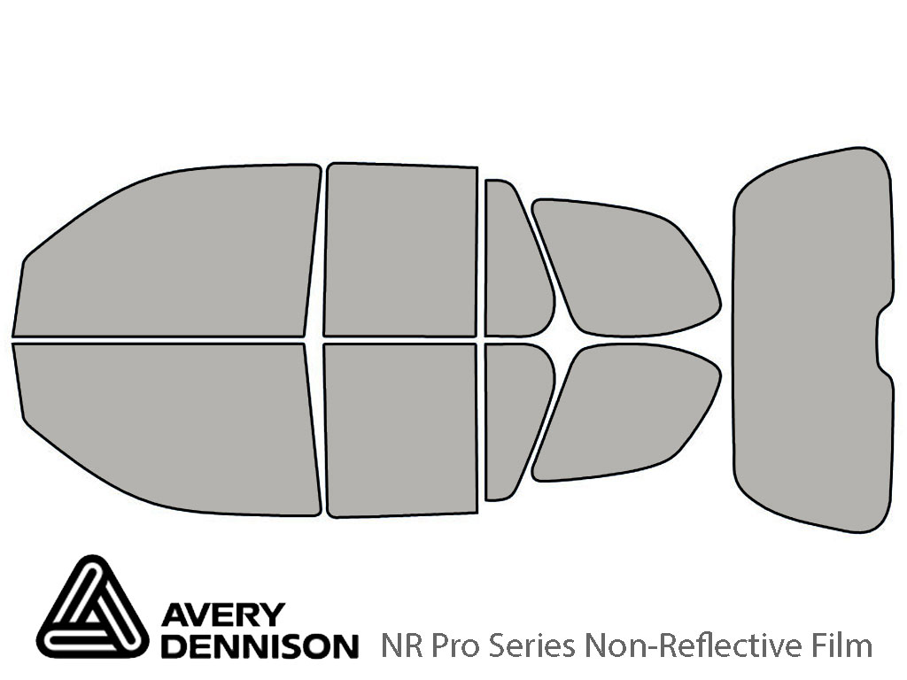 Avery Dennison Isuzu Ascender 2004-2008 NR Pro Window Tint Kit