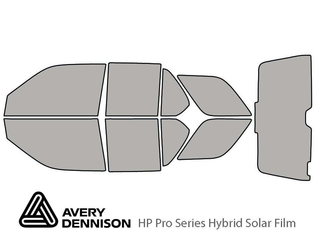 Avery Dennison Isuzu Rodeo 1998-2004 HP Pro Window Tint Kit