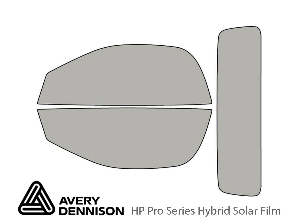 Avery Dennison Jaguar F-Type 2014-2020 (Convertible) HP Pro Window Tint Kit