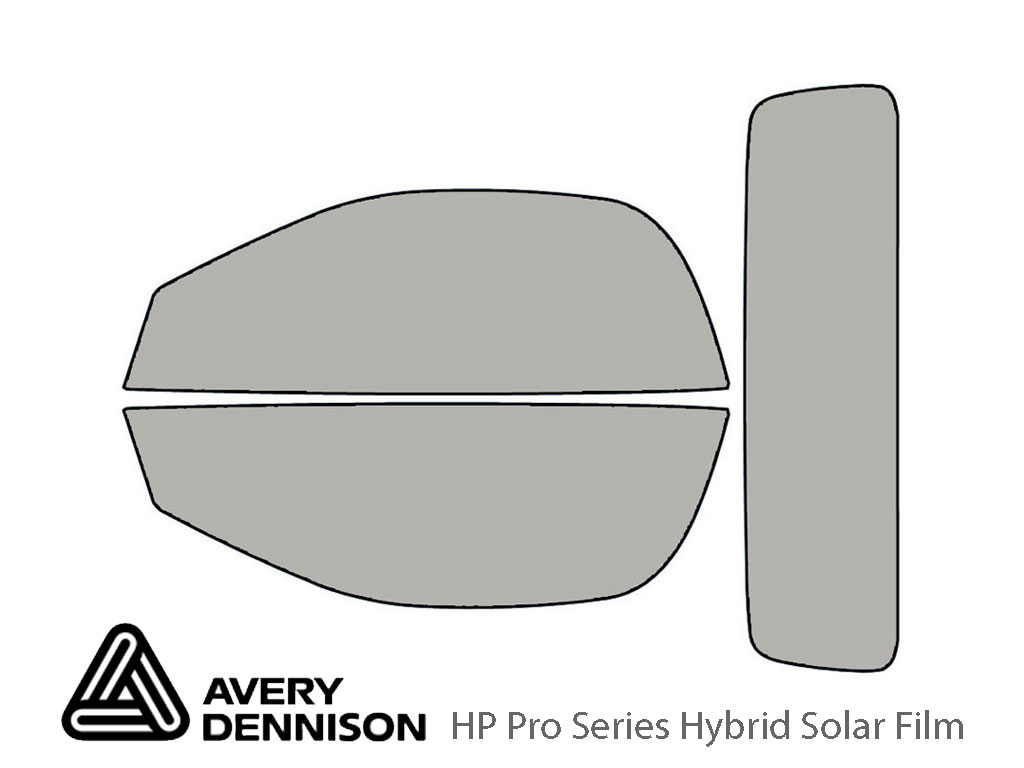 Avery Dennison Jaguar F-Type 2014-2020 (Coupe) HP Pro Window Tint Kit