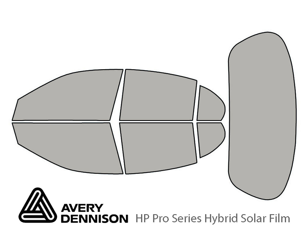Avery Dennison Jaguar S-Type 2000-2008 HP Pro Window Tint Kit