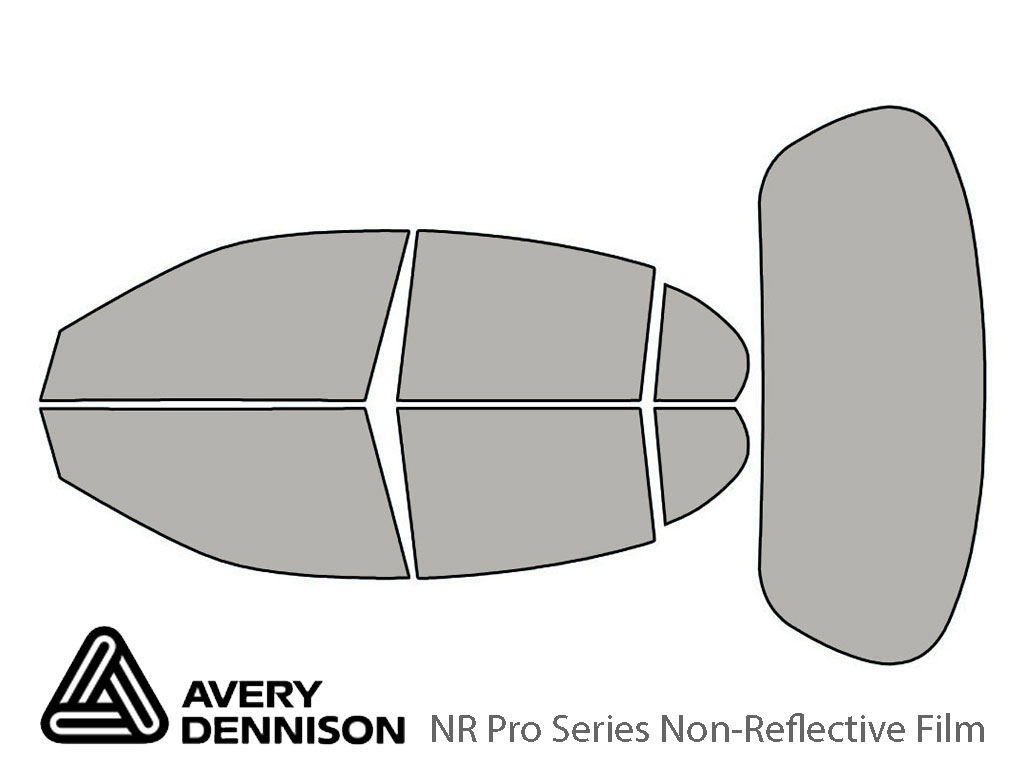 Avery Dennison Jaguar S-Type 2000-2008 NR Pro Window Tint Kit