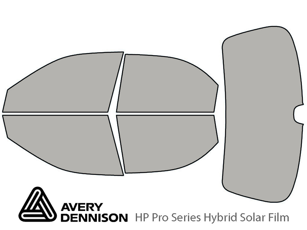 Avery Dennison Kia Sephia 1998-2001 HP Pro Window Tint Kit