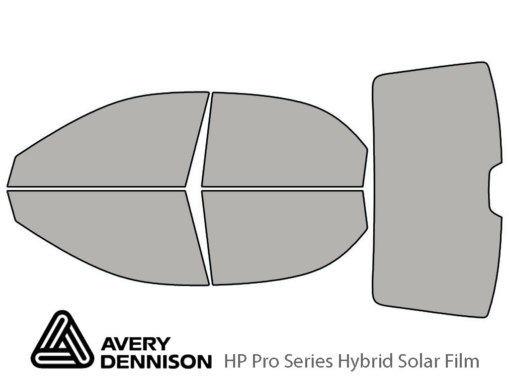 Avery Dennison Kia Spectra 2005-2009 (Sedan) HP Pro Window Tint Kit
