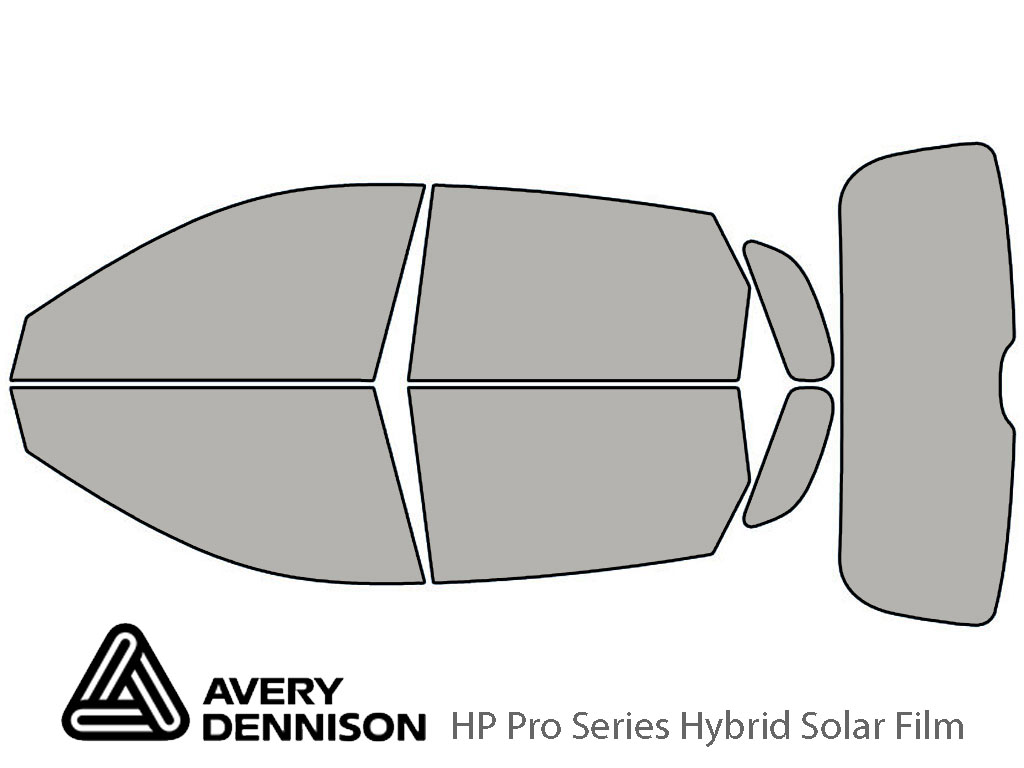 Avery Dennison Kia Spectra 2005-2009 (Wagon) HP Pro Window Tint Kit