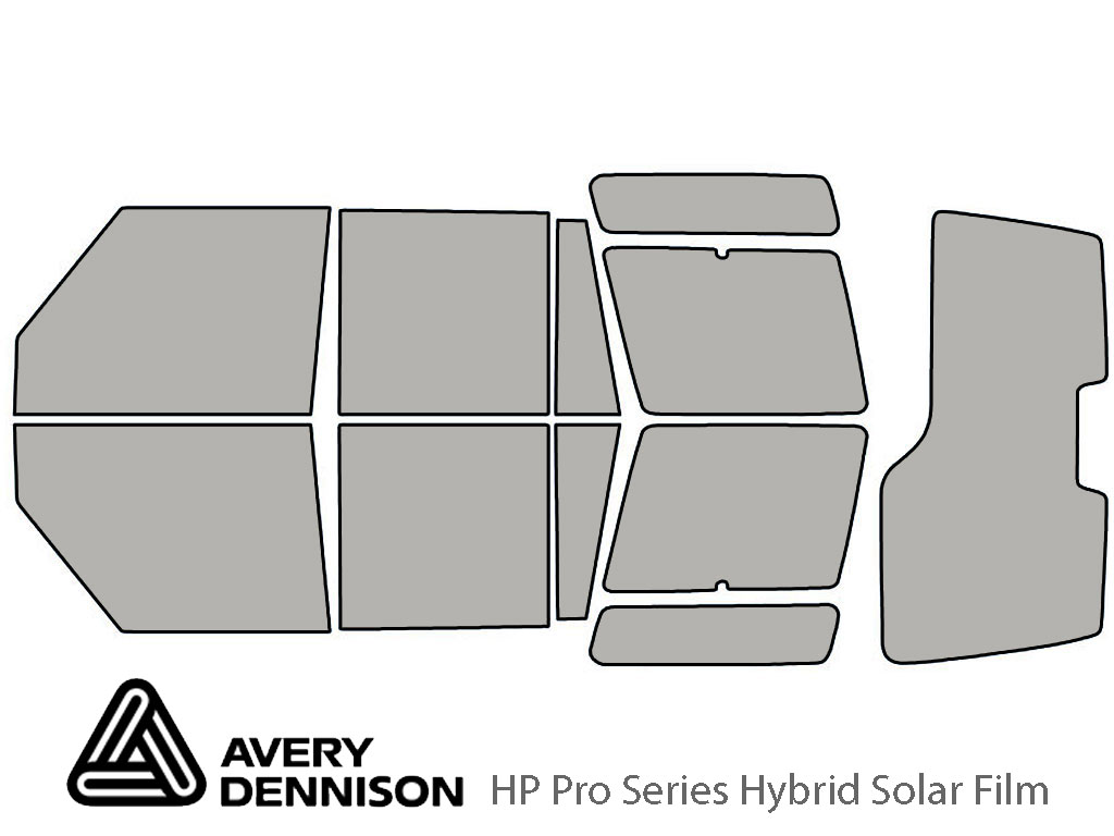 Avery Dennison Land Rover Discovery II 2000-2002 HP Pro Window Tint Kit
