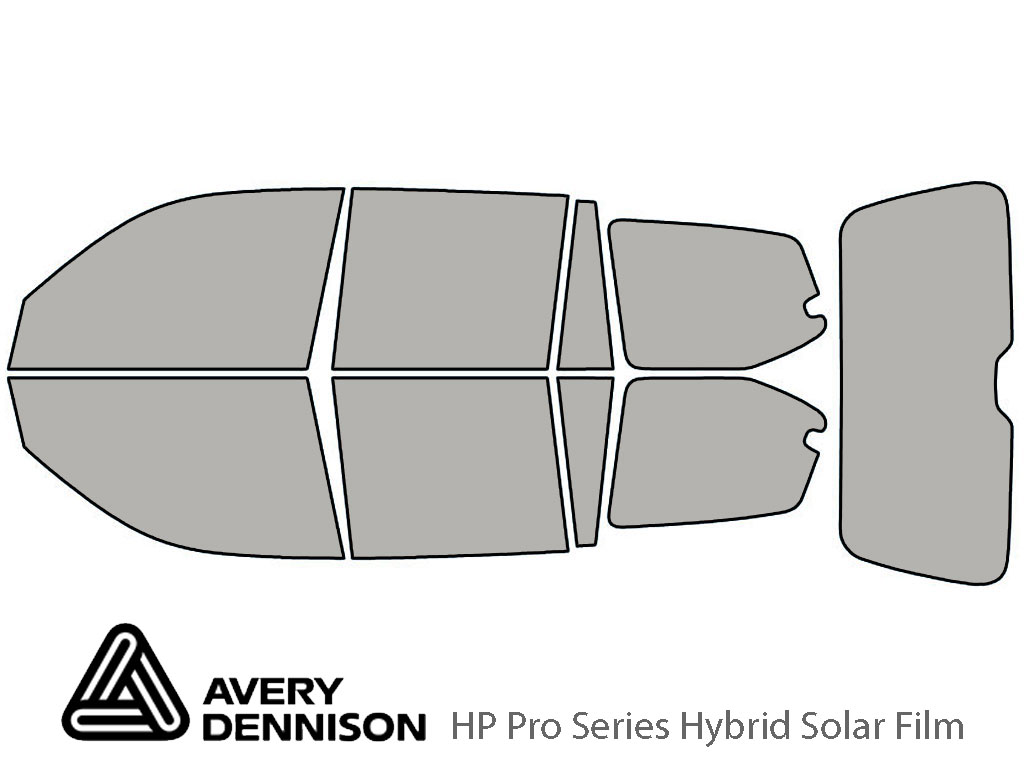 Avery Dennison Lexus GX 2003-2009 HP Pro Window Tint Kit