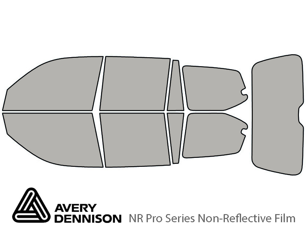 Avery Dennison Lexus GX 2003-2009 NR Pro Window Tint Kit
