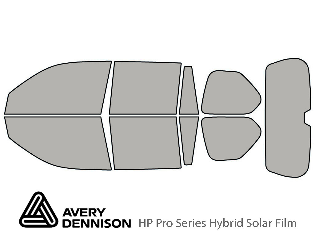 Avery Dennison Lexus GX 2010-2021 HP Pro Window Tint Kit