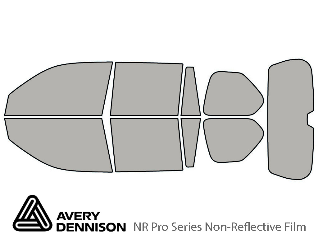 Avery Dennison Lexus GX 2010-2021 NR Pro Window Tint Kit