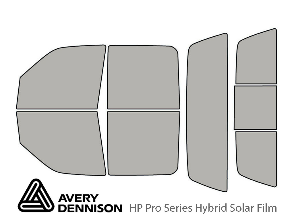 Avery Dennison Lincoln Blackwood 2002 HP Pro Window Tint Kit