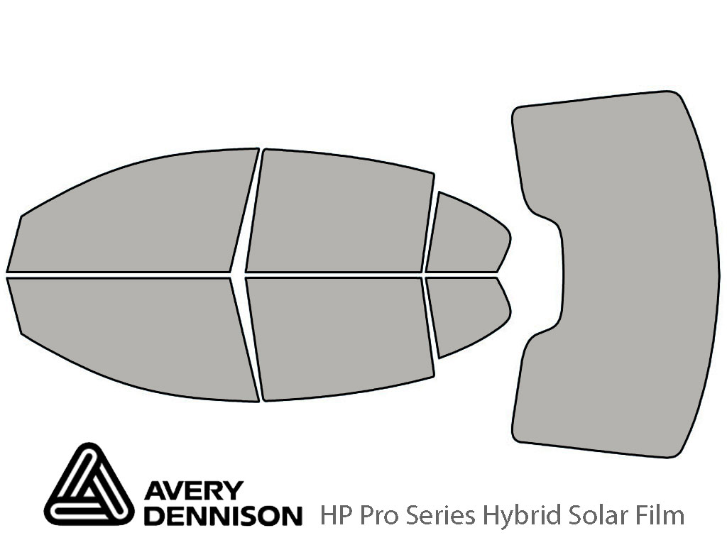 Avery Dennison Lincoln MKS 2009-2015 HP Pro Window Tint Kit