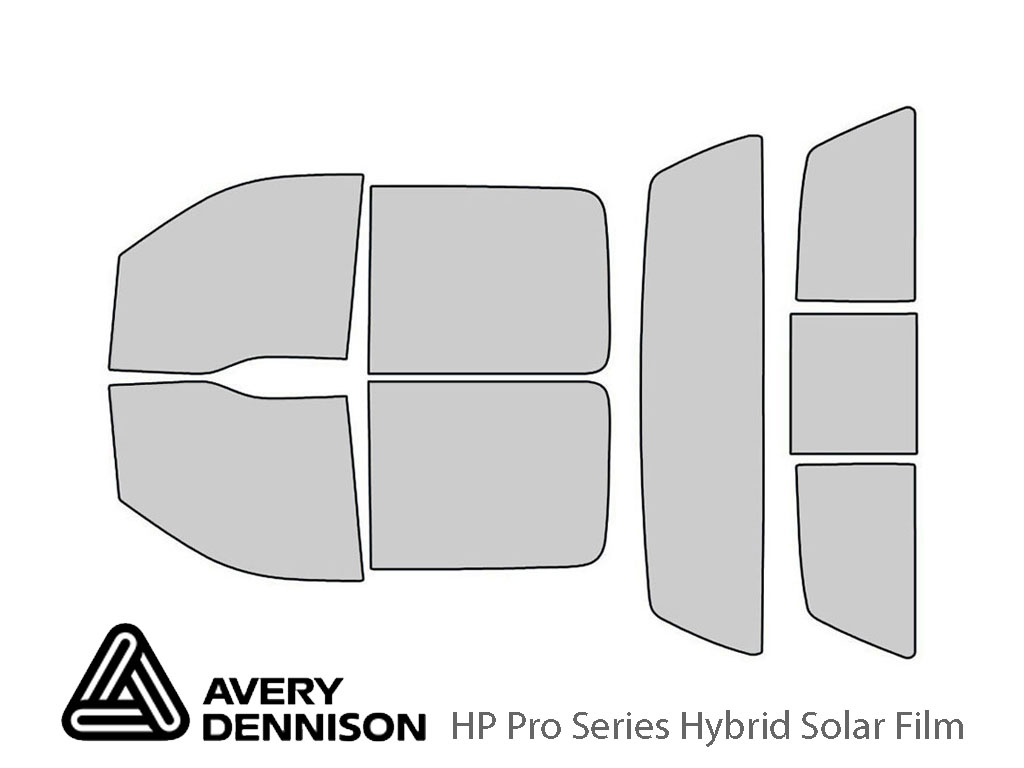 Avery Dennison Lincoln Mark LT 2006-2008 HP Pro Window Tint Kit