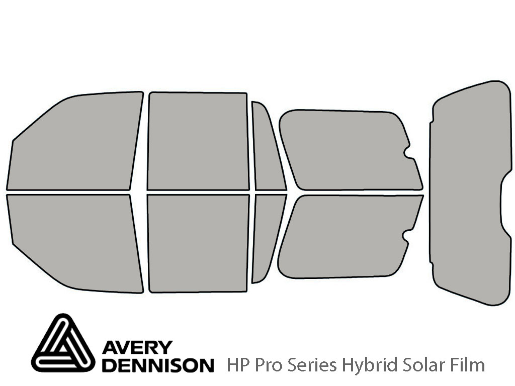 Avery Dennison Lincoln Navigator 2003-2006 HP Pro Window Tint Kit