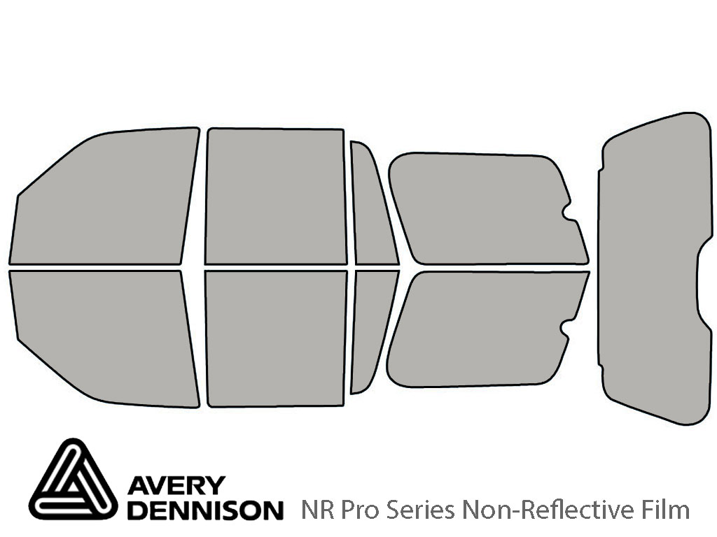 Avery Dennison Lincoln Navigator 2003-2006 NR Pro Window Tint Kit