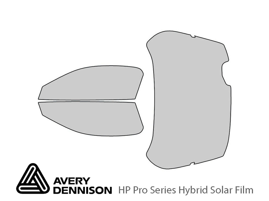 Avery Dennison Mazda MX-3 1992-1995 HP Pro Window Tint Kit