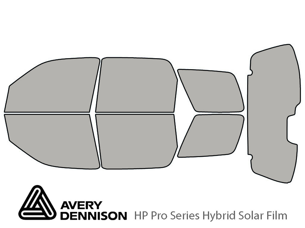 Avery Dennison Mazda Tribute 2001-2007 HP Pro Window Tint Kit