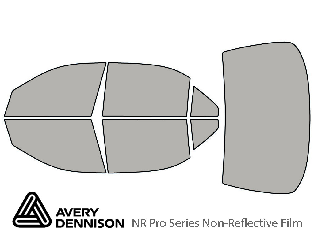 Avery Dennison Mercedes-Benz S-Class 2000-2006 NR Pro Window Tint Kit