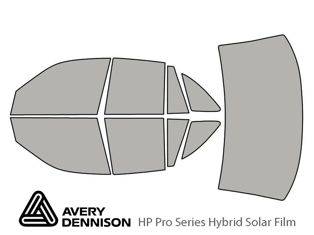 Avery Dennison Mercury Grand Marquis 1992-1995 HP Pro Window Tint Kit