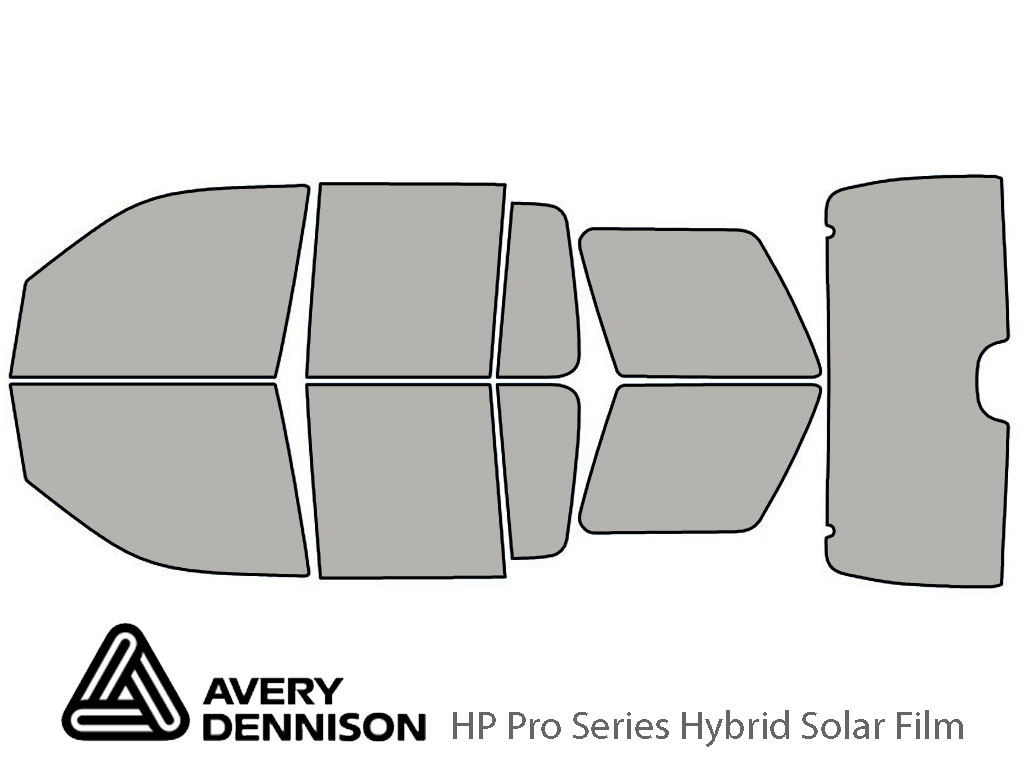Avery Dennison Mercury Mountaineer 2002-2005 HP Pro Window Tint Kit