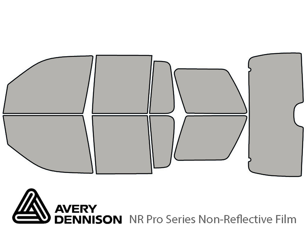 Avery Dennison Mercury Mountaineer 2002-2005 NR Pro Window Tint Kit