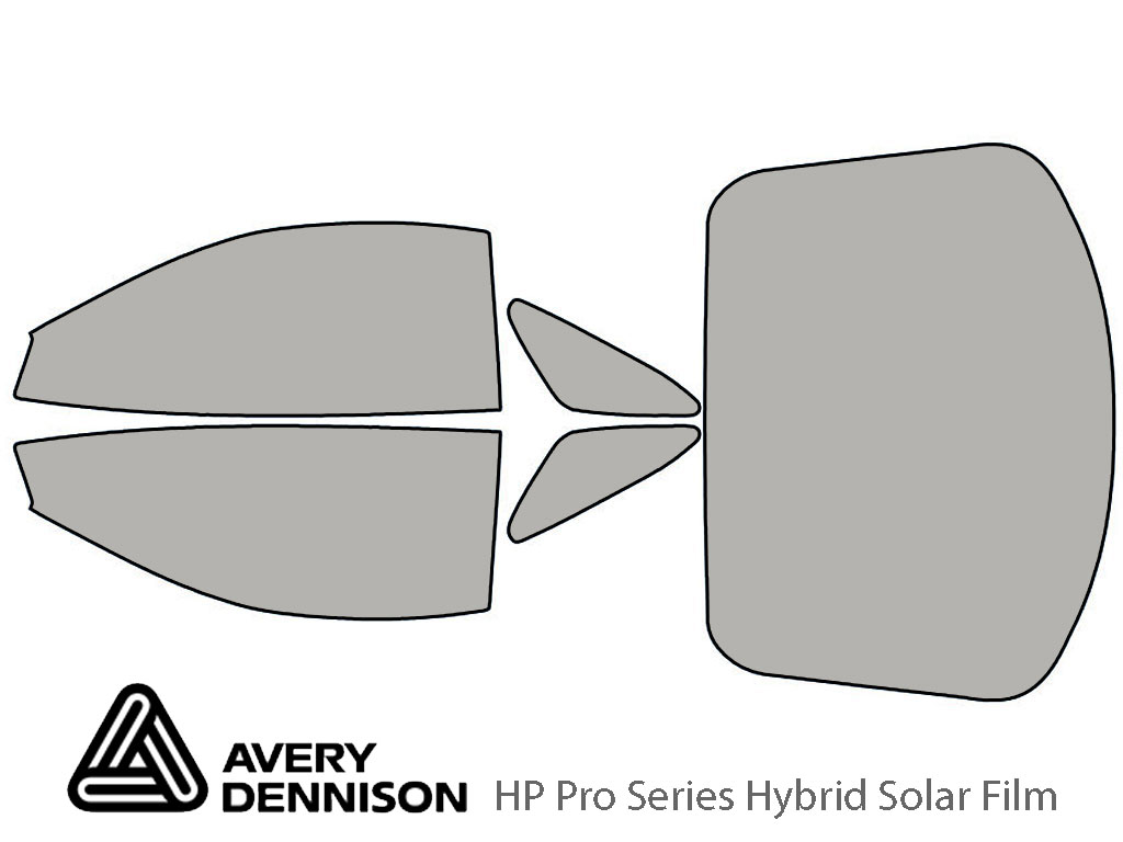 Avery Dennison Mitsubishi 3000GT 1991-1999 HP Pro Window Tint Kit