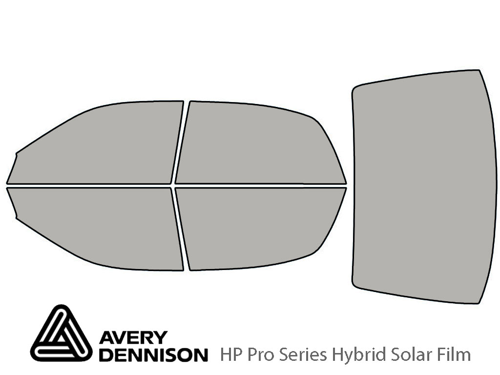 Avery Dennison Mitsubishi Diamante 1997-2004 HP Pro Window Tint Kit