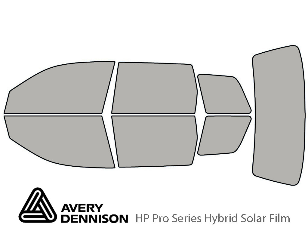 Avery Dennison Mitsubishi Outlander 2003-2006 HP Pro Window Tint Kit