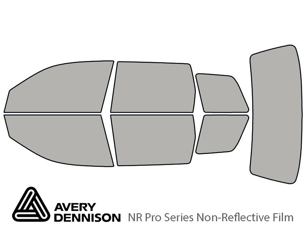 Avery Dennison Mitsubishi Outlander 2003-2006 NR Pro Window Tint Kit