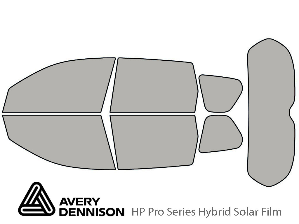 Avery Dennison Mitsubishi Outlander 2007-2013 HP Pro Window Tint Kit