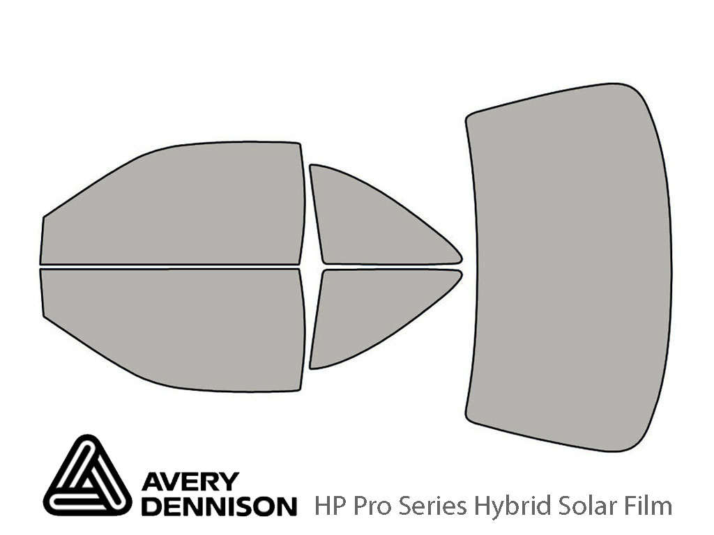 Avery Dennison Nissan 200SX 1995-1998 HP Pro Window Tint Kit