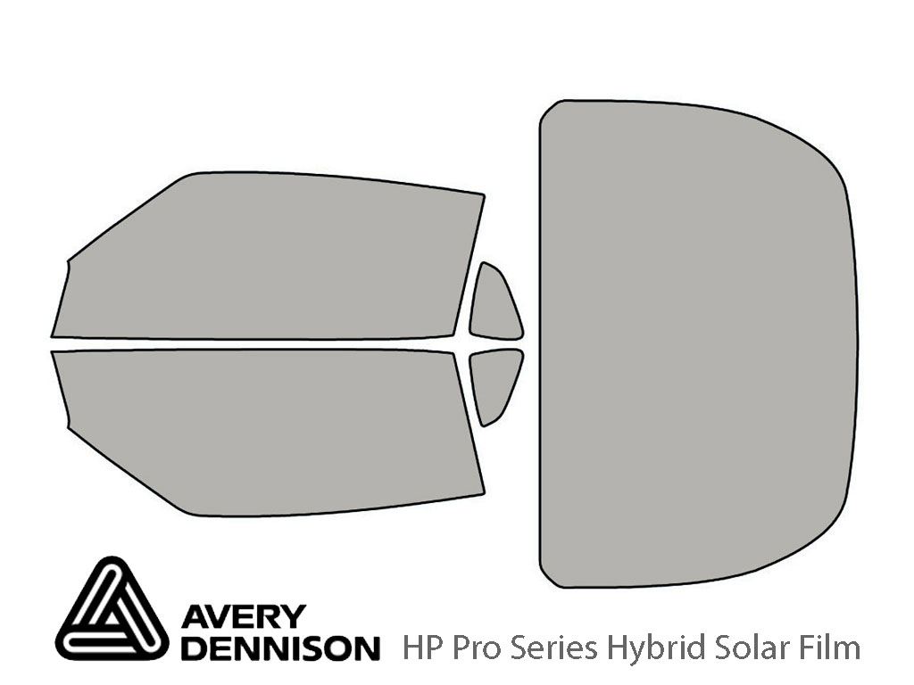 Avery Dennison Nissan 370Z 2009-2019 (Coupe) HP Pro Window Tint Kit