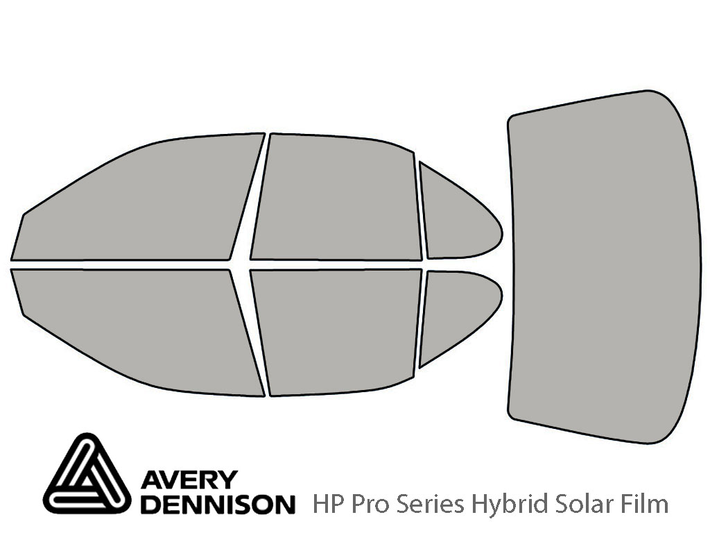 Avery Dennison Nissan Altima 1993-1997 HP Pro Window Tint Kit