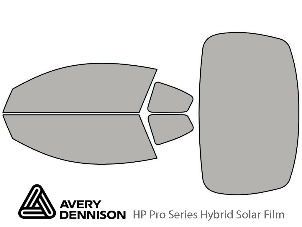 Avery Dennison Nissan Altima 2008-2013 (Coupe) HP Pro Window Tint Kit