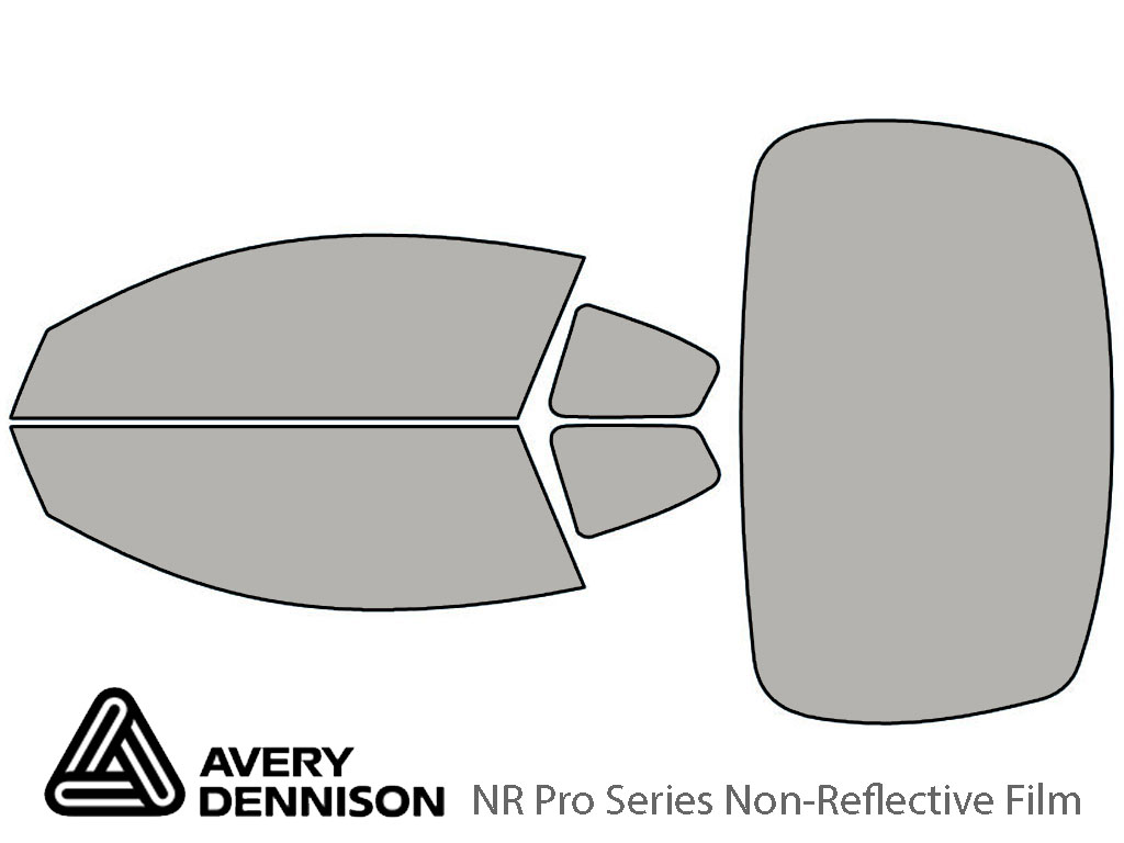Avery Dennison Nissan Altima 2008-2013 (Coupe) NR Pro Window Tint Kit