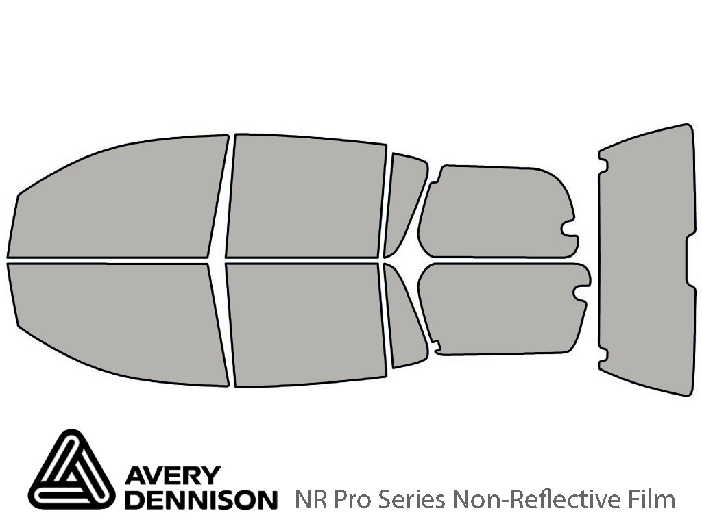 Avery Dennison Nissan Armada 2006-2015 NR Pro Window Tint Kit