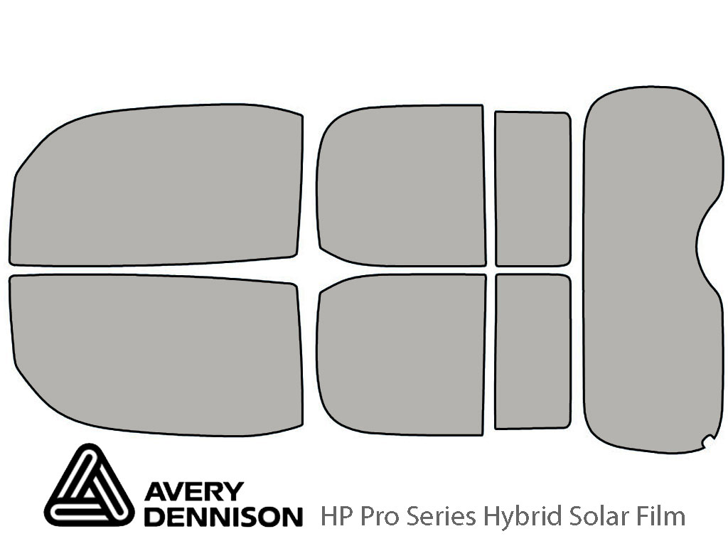 Avery Dennison Nissan Cube 2009-2014 HP Pro Window Tint Kit