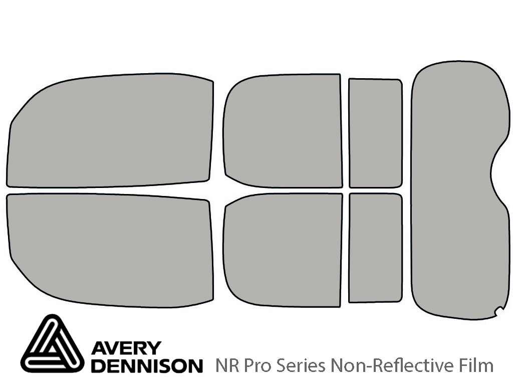 Avery Dennison Nissan Cube 2009-2014 NR Pro Window Tint Kit