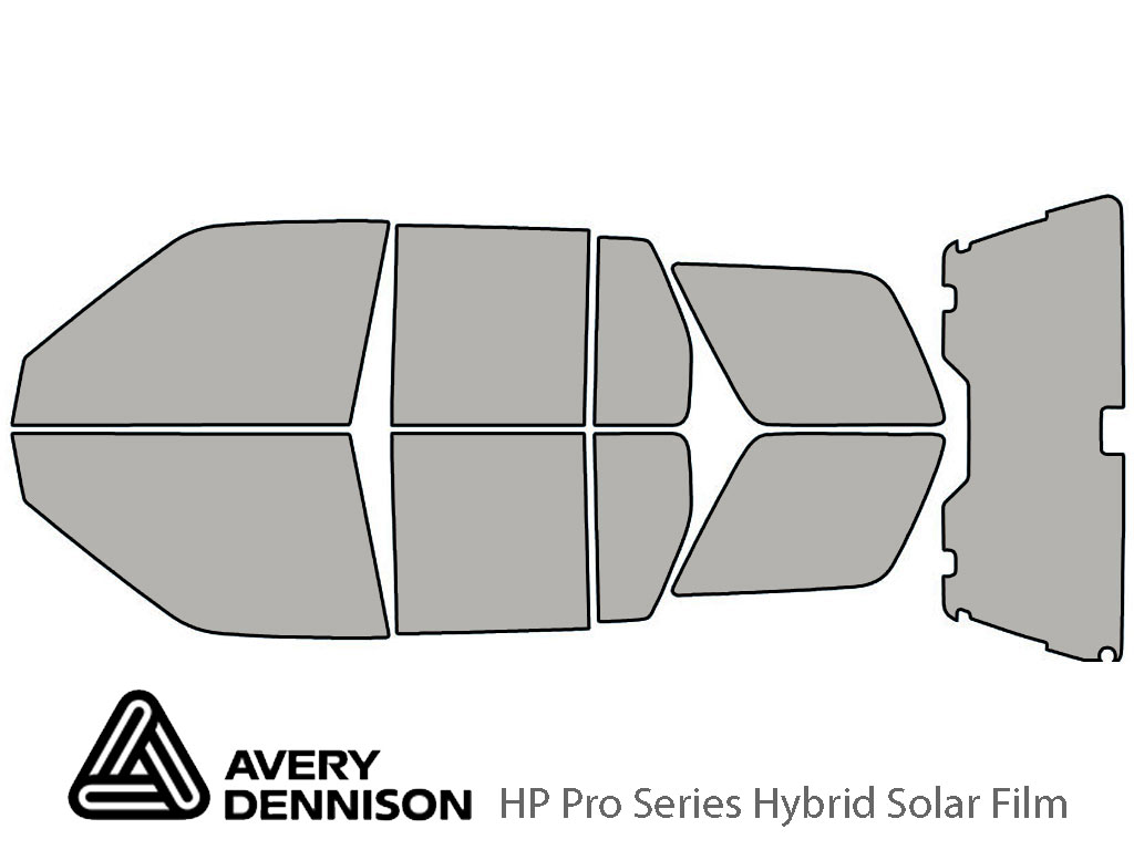 Avery Dennison Nissan Pathfinder 1996-2004 HP Pro Window Tint Kit